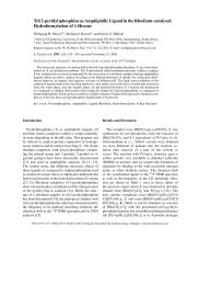 Tri(3-pyridyl)phosphine as Amphiphilic Ligand in the Rhodium ...