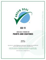 GS-11 Green Seal Standard for Paints and Coatings - The Whole ...