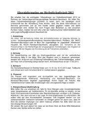 Teilnahmebedingungen - Jugendpflege VG Ransbach-Baumbach