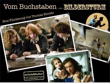 Eine Filmlesung von Thomas Binotto - Filmleser.ch