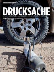 Ein Kompressor zum Reifenfüllen sollte in keinem Offroader fehlen ...