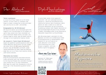 Medizinische Hypnose Medizinische Hypnose - Hypnosetherapie ...