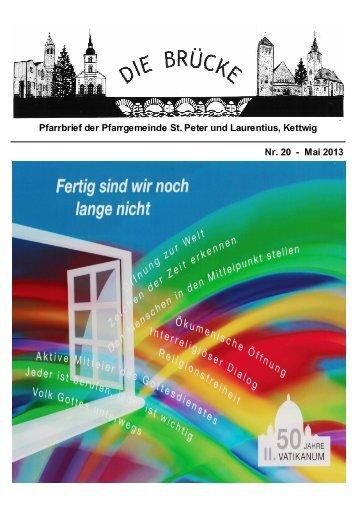 Pfarrbrief Mai 2013 Internetversion.pub - Pfarrgemeinde St Peter ...