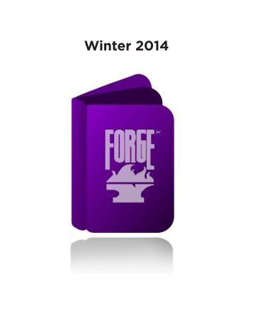 Winter 2014 Forge Catalogue (PDF) - Raincoast Books
