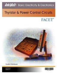 Thyristor & Power Control Circuits - Lab Volt