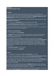 Allgemeine Geschäftsbedingungen (AGB) 1. Geltung 1.1 ... - Comsell