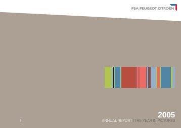 ANNUAL REPORT / THE YEAR IN PICTURES - Alle jaarverslagen
