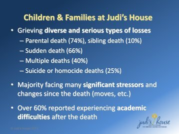 Children & Families at Judi's House