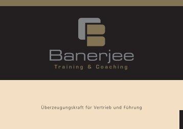 Überzeugungskraft für Vertrieb und Führung - Oliver Banerjee