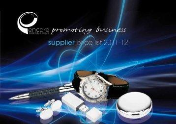 promoting business - Encore Catalogue Group