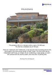 Villa Anthemis - Welcome to St Tropez