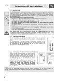 Anweisungen für den Benutzer - Page 6