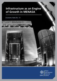 Infrastructure as an Engine of Growth in MENASA - Dubai ...