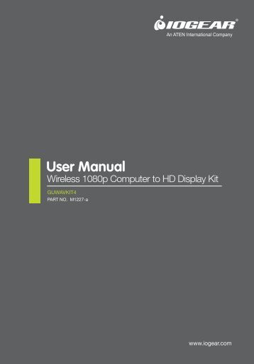 User Manual - Iogear