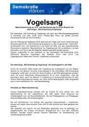 Vogelsang - Demokratie stärken für Vielfalt und Toleranz in der ...