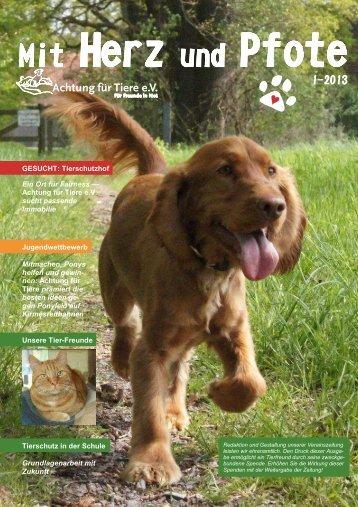 hier downloaden - Achtung für Tiere