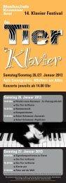 Klavierfestival 2013