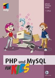 Was kannst du mit PHP und MySQL alles machen? - Verlagsgruppe ...