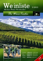 Michael Winter Weinhand ael Winter Weinhandel - The Wine Trader