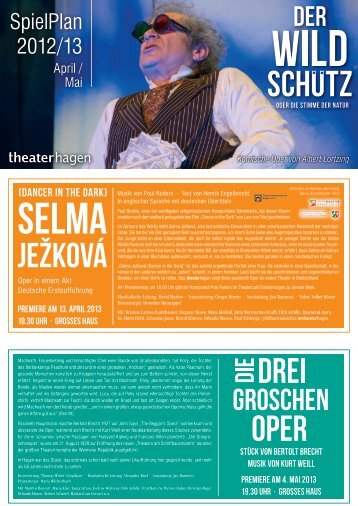 Ausgabe April und Mai 2013 [Download: PDF] - Theater Hagen