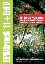 Wärmegesetz 2011 + EnEV: Erneuerbare-Energien-Wärmegesetz ...
