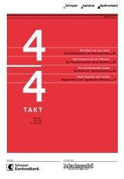 Ausgabe Juli 2013 zum Downloaden - Schwyzer Kantonal ...