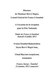 Discours 14 juillet Hervé Magro - Consulat général de France à ...