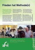Wir scheuen keine Konflikte - Ziviler Friedensdienst - Page 3