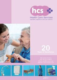 download our complete 2011 Catalogue - Health Care Services