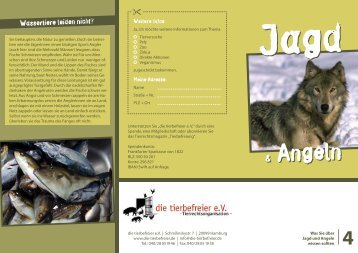 jagd tierbefreier.pdf - die tierbefreier eV