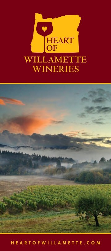 Download the Heart of Willamette Wineries Brochure as a PDF