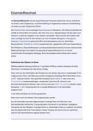 Eisenstoffwechsel - Mtaschule-os.de
