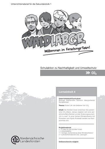 Aufgabe 1 - Waldlabor
