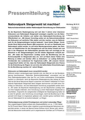 Nationalpark Steigerwald ist machbar!