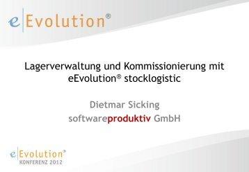 Lagerverwaltung und Kommissionierung mit eEvolution® stocklogistic