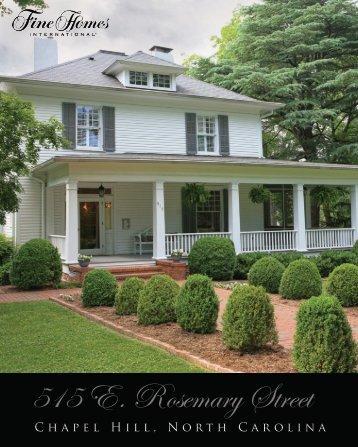 515 E. Rosemary Street
