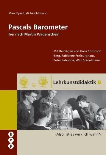 Pascals Barometer - h.e.p. verlag ag, Bern