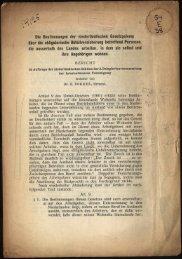Die Bestimmungen der niederlandischen Gesetzgebung über die ...