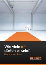 Wie viele m2 dürfen es sein? - Nettpark-emmerich.de