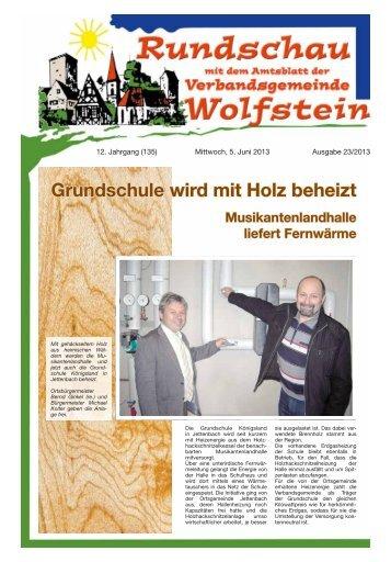KW 23 - Verbandsgemeinde Wolfstein