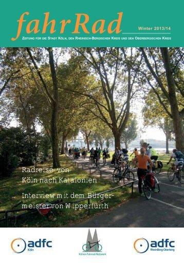 Zeitung fahrrad Herbst/Winter 2013/2014 ist hier zum Download.
