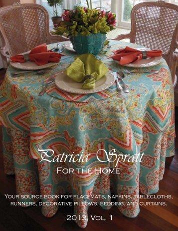 to view - Patricia Spratt for the Home