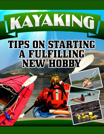 Right Mouse Click To Download Your Book - Kayaking