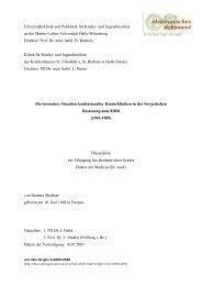 Universitätsklinik und Poliklinik Für Kinder- und Jugendmedizin