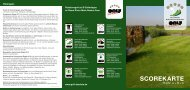 Scorekarte Biblis-Wattenheim - GOLF absolute