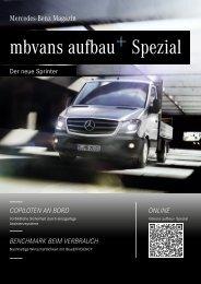 Ausgabe 2013 (Sprinter) - Aufbauhersteller-Portal - Mercedes-Benz