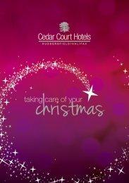 Christmas brochure - Cedar Court Hotels