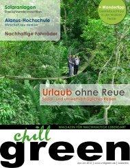 chillgreen-Magazin 02/2012 - joergplaner.de