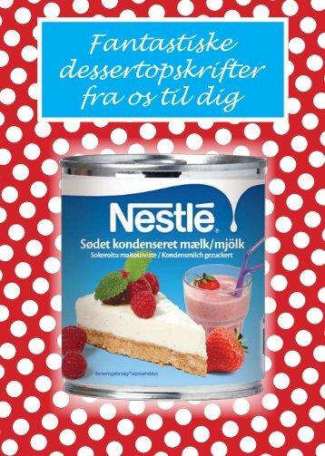 Fantastiske dessertopskrifter fra os til dig - Nestlé
