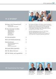 PC & INTERNET - Volkshochschule Meppen